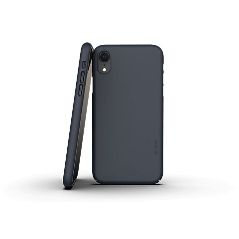 Nudient Slim Cover V3 Apple iPhone XR Midwinter Blau