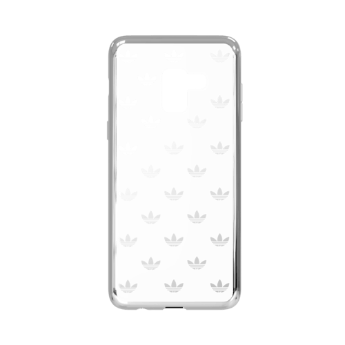 adidas Clear Case Entry Galaxy A8 Silber