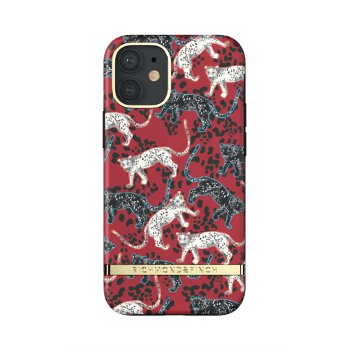 Richmond & Finch Samba Red Leopard iPhone 12 Mini iPhone 12 mini Rot