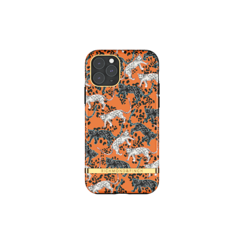 Richmond & Finch Orange Leopard iPhone 11 Pro iPhone 11 Pro Orange