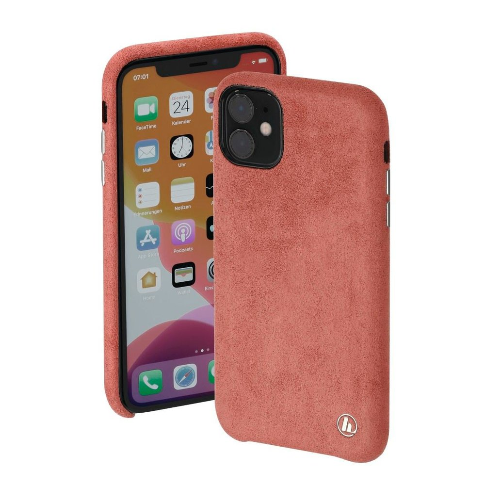 "Hama Cover ""Finest Touch"" Apple iPhone 12 mini Coral"