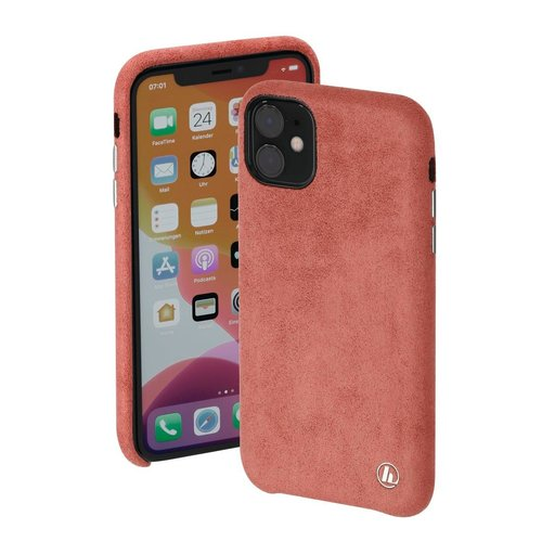 Hama Cover Finest Touch Apple iPhone 12 mini Coral