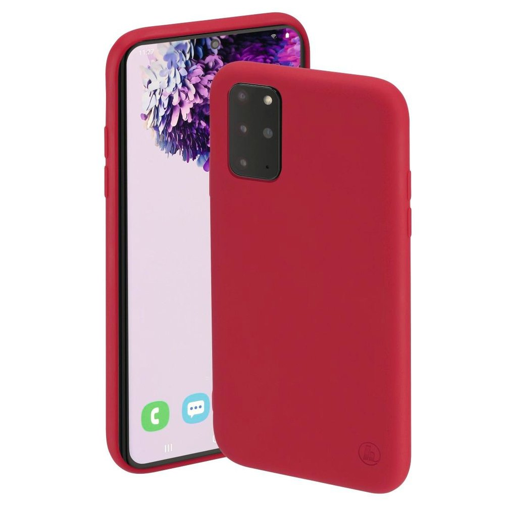 "Hama Cover ""Finest Feel"" Samsung Galaxy S20+ (5G) Rot"