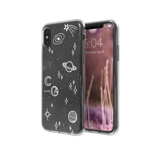 STRAX iPlate Cosmic Happenings iPhone X iPhone XS Mehrfarbig