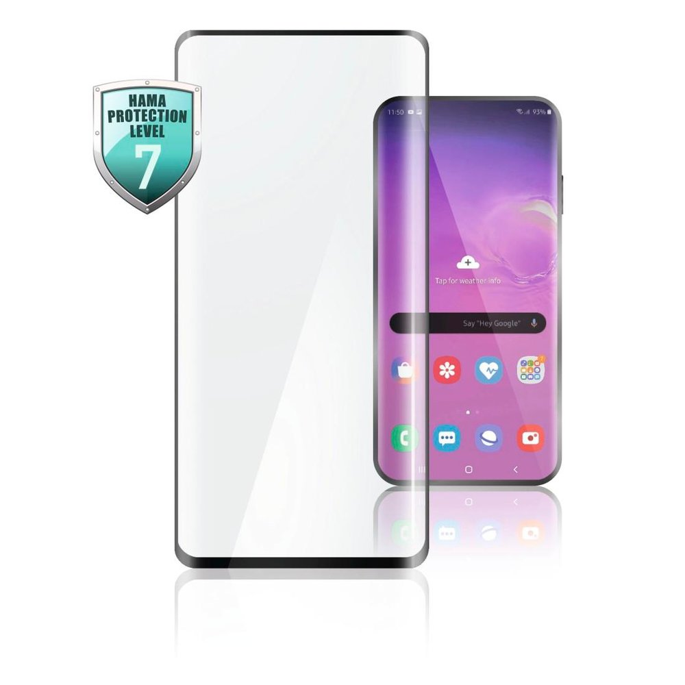 Hama Full-Screen-Schutzglas Samsung Galaxy A72 Schwarz Transparent