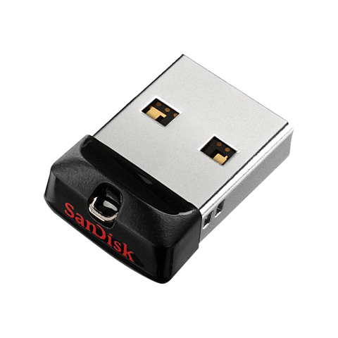 SanDisk Cruzer Fit USB 2.0 Flash Drive Schwarz
