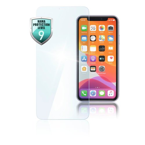 "Hama Echtglas-Displayschutz ""Premium Crystal Glass"" Apple iPhone 12 mini Transparent"
