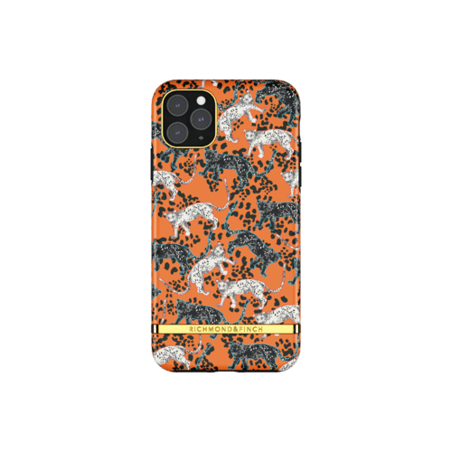Richmond & Finch Orange Leopard iPhone 11 Pro Max iPhone 11 Pro Max Orange