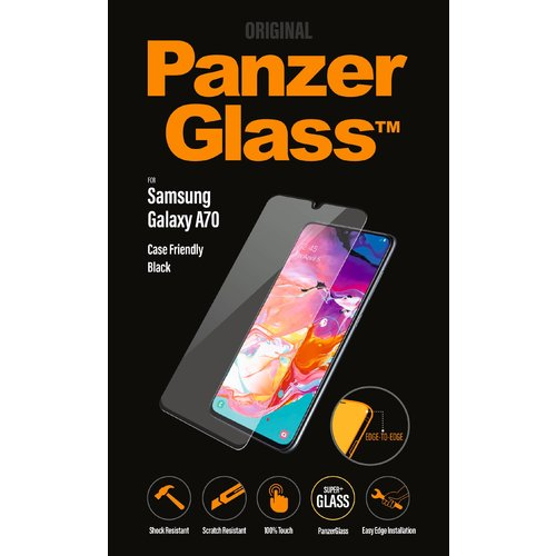 PanzerGlass Display Glas Samsung A70 Transparent