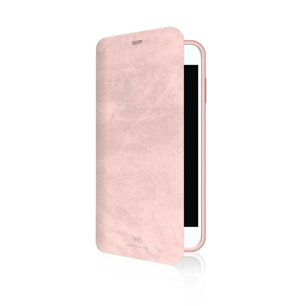 "White Diamonds Booklet ""Promise"" Apple iPhone 7/8/SE (2020) Coral"