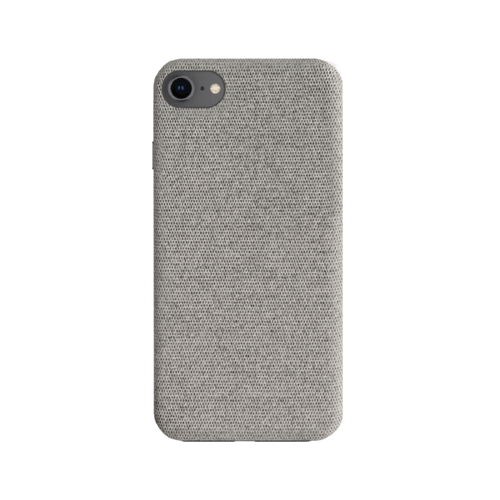 STRAX Fabric Case IPhone 6/6s/7/8/SE 2G Grau