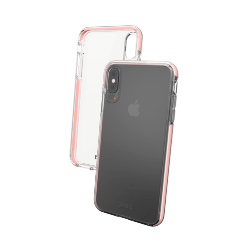 Gear4 gear4 Piccadilly Case Apple iPhone XS Max Rose Gold Colored