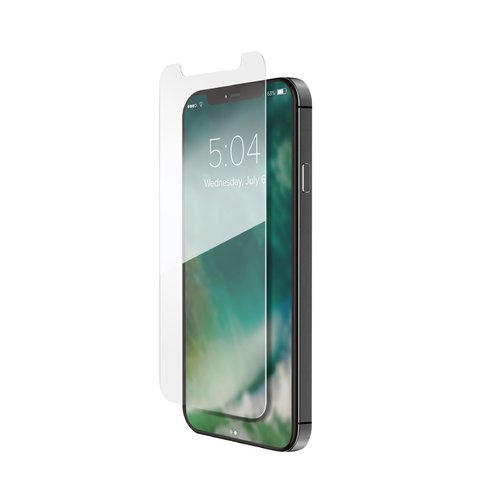 STRAX Tough Glass CF flat iPhone 12 mini Transparent