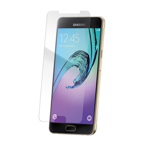 STRAX Glass Case-Fit Galaxy A7 (2016) Clear