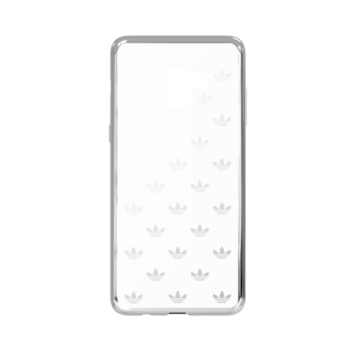 adidas Clear Case AOP Galaxy A8+ Silver Colored