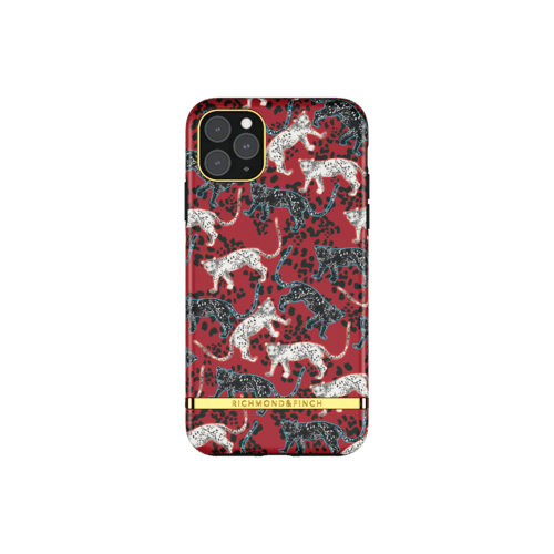 Richmond & Finch Samba Red Leopard iPhone 11 Pro Max iPhone 11 Pro Max Rot