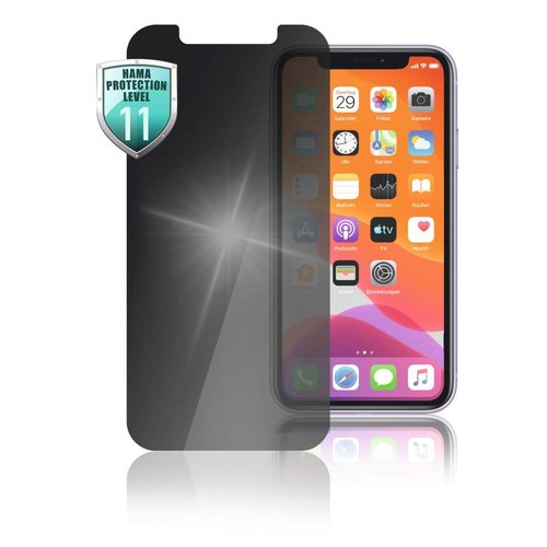 "Hama Echtglas-Displayschutz ""Privacy"" Apple iPhone 12 mini Transparent"