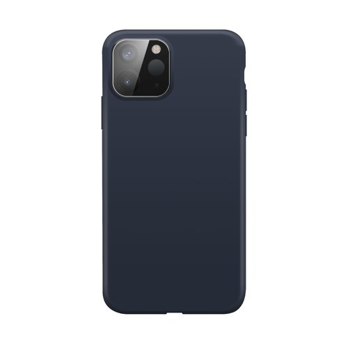 STRAX Silicone case Anti Bac iPhone 12 mini Blau