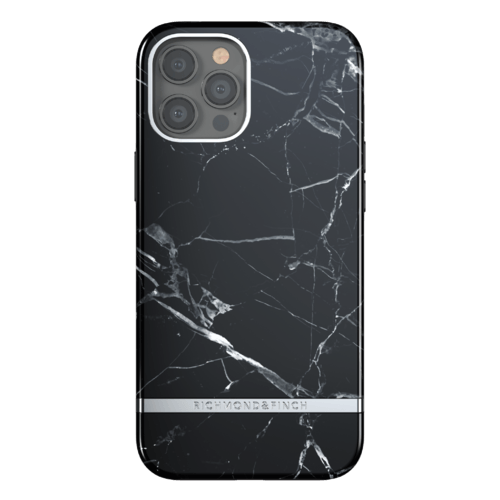 Richmond & Finch Black Marble iPhone 12 Pro Max iPhone 12 Pro Max Schwarz