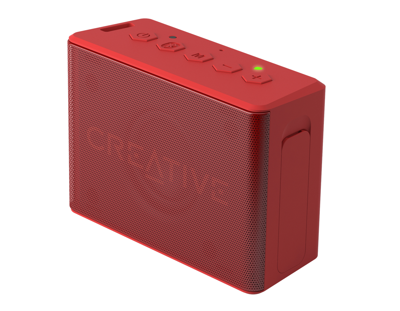 Creative MUVO 2c Stereo Rechteck Rot Rot