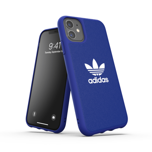 adidas Moulded case CANVAS iPhone 11 Blau