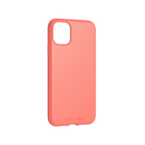 Tech21 Studio Colour Hülle Apple iPhone 11 Coral